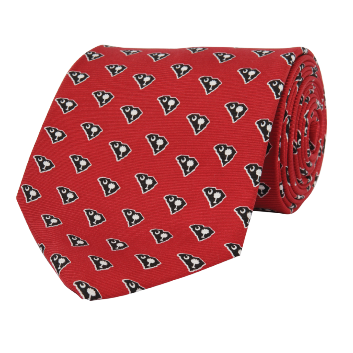 SC Traditional Garnet Tie